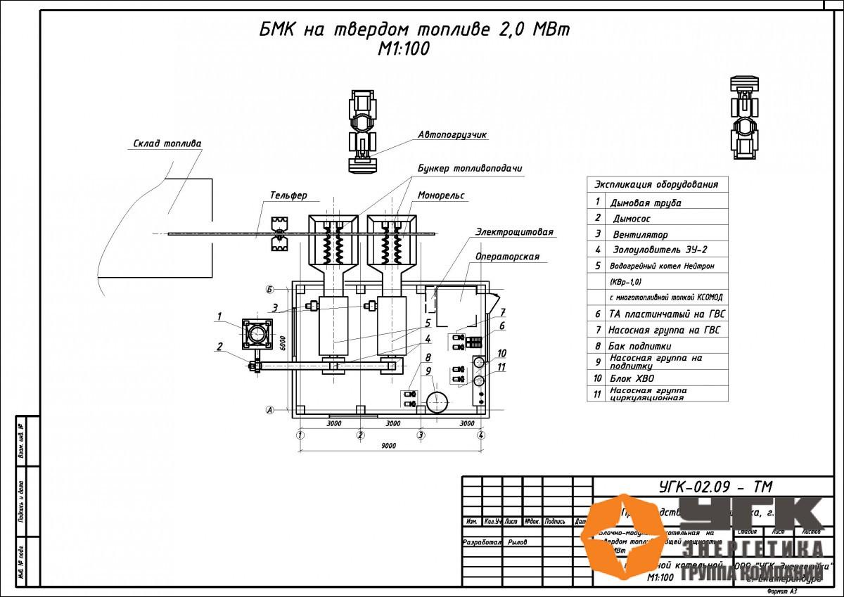 образец заявки на строительство блочно модульной котельной